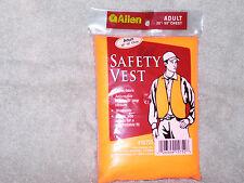 """Allen Safety Vest - Blaze Orange - Adult - 30"""" to 50"""" Chest"""