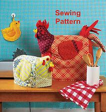 Kwik Sew K152 Ellie Mae designs pattern potholder & appliance couvre BN OSZ