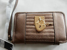 JUICY COUTURE NWT LEATHER WRISTLET ROBINSON KEY IPHONE 5 5s case