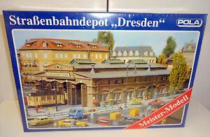 Pola H0 675 Straßenbahndepot Dresden (original verschweißt) OVP RS2945