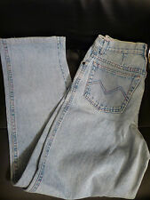 AUTH MISSONI SPORT High Rise Contrast Stitch Light Blue Stonewashed Jeans 28 x30