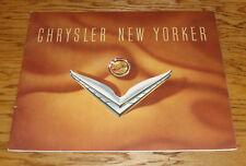 Original 1953 Chrysler New Yorker Deluxe Sales Brochure 53 Newport