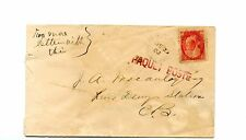 River Dennis PAQUETBOT fake handstamps Cape Breton NS reference Canada cover