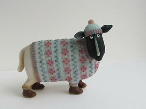 Ewe and Me - Nellie A6118 - by Toni Goffe Border Fine Arts Sheep Figure