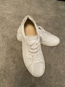 Mens Reiss Leather Trainers 9