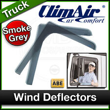 CLIMAIR Truck Lorry Wind Deflectors VOLVO FH RHD Right 2013 2014 2015... FRONT