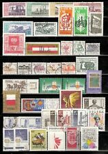 Poland Stamps Collection of 69 Used Issues. See 2 Scans.