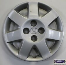 "'01-'02 HONDA CIVIC, 15"" USED HUBCAP, ETCHED LOGO, ANTI RATTLE PINS, 55051"