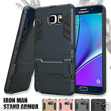 Galaxy Note 5 Case Heavy Duty Iron Man Armor Shockproof Stand Cover For Samsung