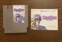 Metal Mech: Man & Machine (Nintendo Entertainment System, NES) w/ Manual Tested