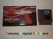 ZAPPER GUN CONTROLLER WITH NINTENDO NES GUMSHOE GAME & 30 DAY GUARANTEE