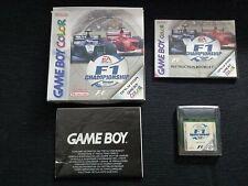 F1 CHAMPIONSHIP SEASON 2000 - NINTENDO GAME BOY COLOR GBC - COMPLETO
