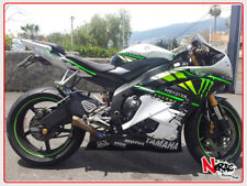 CARENA ABS FAIRING KIT YAMAHA YZF R6 2008/16 GRAFICHE PERSONALIZZABILI MONSTER
