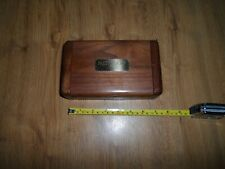 Pacific Cup IX  Wood Box W/Playing Cards Sports Memorabilia - Golf