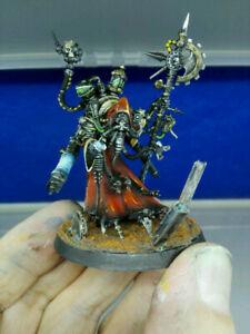 Warhammer 40k Adeptus Mechanicus Tech Priest Dominus Pro painted