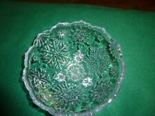 "Bowl - 6"" Small Footed Crystal - 2 3/4"" High"