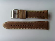 Fossil repuesto original pulsera de cuero ch2951 uhrband watch Strap marrón Brown 22 mm