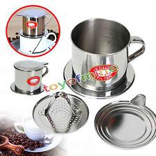 1PC Stainless Steel Vietnamese Coffee Drip Filter Maker Infuser Set 5.5 x 6.5cm
