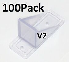 100 Pack MINI Roof Guard Snow Prevent Sliding Ice Snow Stop Plastic ACRYLIC