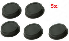 5X Rear Lens Caps For CANON EF & EF-S Lens UK Seller, Free & Fast delivery
