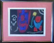 IDA KERKOVIUS >Tulpen< HAND-SIGNIERT numer. 64/200 42x35 Orig. Siebdruck Rahmen,