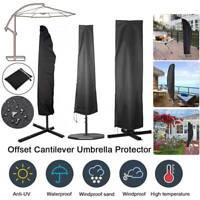 Heavy Duty Large Banana Parasol Cover Cantilever Umbrella Outdoor Patio Garden❥