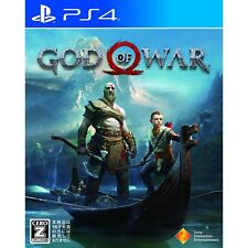 God of War SONY PS4 PLAYSTATION 4 JAPANESE VERSION