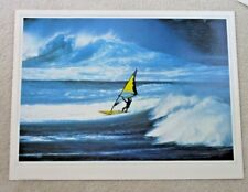 New Wind Surfing Poster 1984 Phil Uhi Photograph