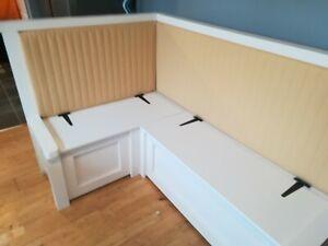 Upholstered Corner Bench