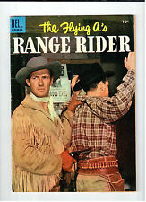 Dell FLYING A'S RANGE RIDER #10 June-August 1955 vintage western comic