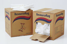 Resource wiping rags 100 sheets 1 ply strong absorbant chemical free wipes