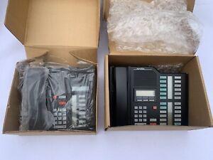 (2)Nortel Norstar Meridian M7208 Phone Black