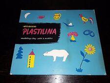 Kinderspiel Plastilina Modelling-Clay - 60iger/70iger Jahre DDR