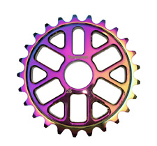 Progression BMX Rainbow Oil Slick Jet Fuel Sprocket 25t