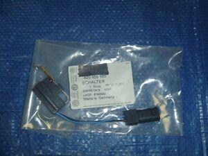 New 14 15 Audi R8 Left Side Door Handle Micro Switch Factory Original OEM