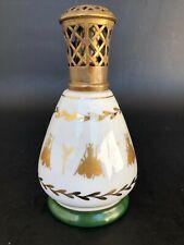 ANCIENNE LAMPE BERGER PORCELAINE COULEUVRE ABEILLE EMPIRE diffuseur parfum ***