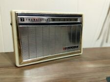 Vintage Bulova 7 Transistor Radio 1960's
