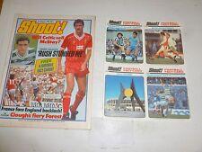 SHOOT! Comic - Date 03/03/1984 - UK Paper Comic - FREE FOOTBALL FACT CARDS 4