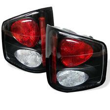 Chevy/GMC/Isuzu 94-04 S10/Sonoma/Hombre Black  Rear Tail Light Brake Lamp Set