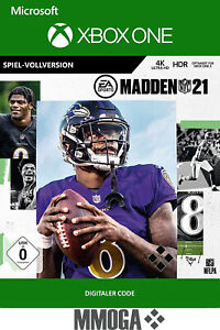 Xbox One Madden NFL 21 Key - Xbox One Spiel Download Code - DE/Global