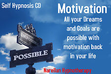 Motivation -Self Hypnosis - CD-Narellan Hypnotherapy