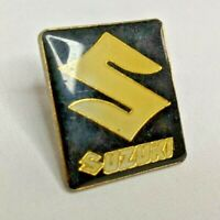 Vintage Suzuki Motorcycle Lapel Hat Jacket Biker Pin