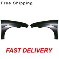Front Steel Fender Set Of 2 Passenger /& Driver Side Fits Audi A4 Sedan//Wagon