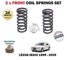 FOR LEXUS IS200 2.0 GXE10 1999-2005  2 x FRONT COIL SPRINGS SET