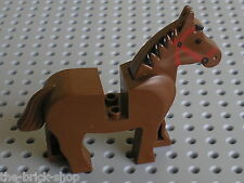 Cheval LEGO CHATEAU castle Minifig OldBrown HORSE 4493c04 / 6769 6762 6090 6765