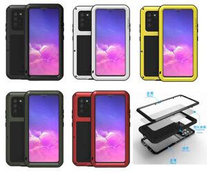 For Samsung Galaxy S10 Lite 2020 Shockproof Waterproof Gorilla Glass Rugged Case