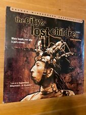 THE CITY OF LOST CHILDREN LASERDISC Deluxe Widescreen *BRAND NEW SEALED*
