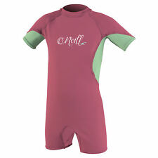 O'Neill Toddler O'Zone UV Spring Girls Sunsuit 2018 - Fox Pink/ Mint/ White