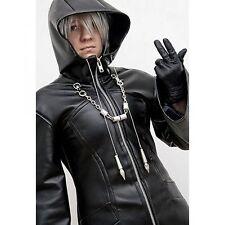 Kingdom Hearts Organization XIII Enigma Black Trench Coat
