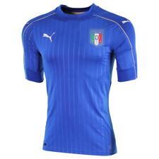 Puma Italien ACTV Authentic Heim Trikot/Home Shirt 2016 EM, Farbe Blau  Gr. L